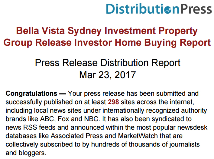 DistributionPress.com - Press Release March 23 2017